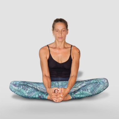 baddha-konasana or bound angle pose