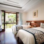 Chambre double deluxe de l'hotel Patra