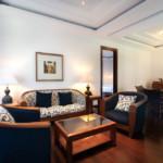 Sallon des chambres deluxes de l'hotel Patra