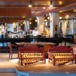 Hotel Patra's main restaurant