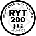 Yoga Alliance RYT200 logo
