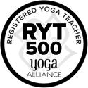 Yoga Alliance RYT500 logo