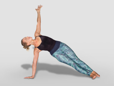 vasisthasana or side plank pose