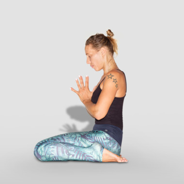 virasana or hero pose