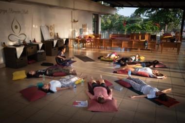 Yoga kirtan experience